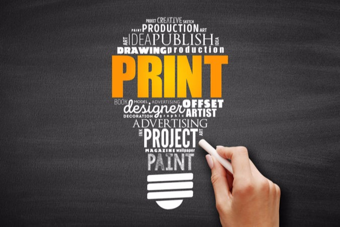 Print design projects